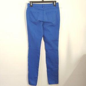 Willi Smith Blue Stretch Skinny Jeans Jegging